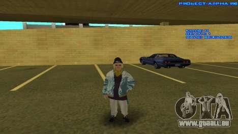 Vagos Girl für GTA San Andreas fünften Screenshot