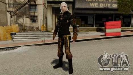 Geralt de Rivia v3 pour GTA 4