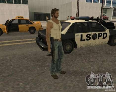 Haut Wolwerine für GTA San Andreas zweiten Screenshot