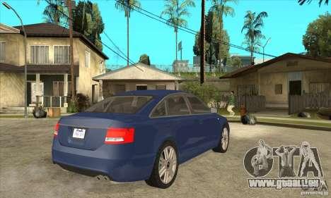 Audi S6 Limousine V1.1 pour GTA San Andreas vue de droite