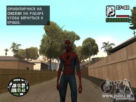 Spider-man 2099 pour GTA San Andreas deuxième écran