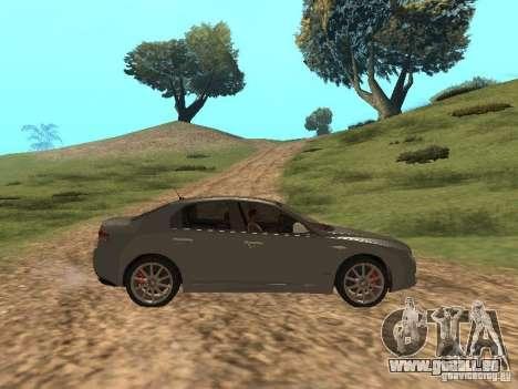 Alfa Romeo 159Ti für GTA San Andreas Rückansicht