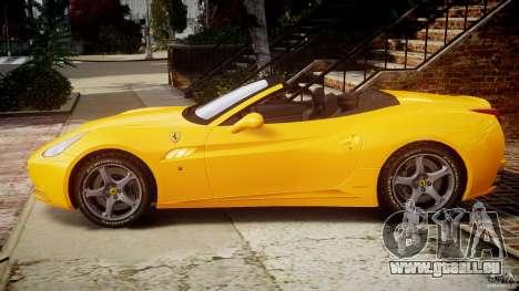 Ferrari California v1.0 pour GTA 4 est une gauche