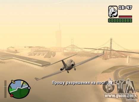 Job-pilot für GTA San Andreas zweiten Screenshot