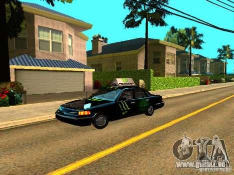 Ford Crown Victoria Taxi pour GTA San Andreas