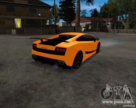 Lamborghini Gallardo LP570 Superleggera pour GTA San Andreas vue de droite