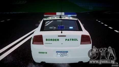 Dodge Charger US Border Patrol CHGR-V2.1M [ELS] pour GTA 4
