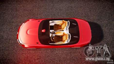 Mazda Miata MX5 Superlight 2009 pour GTA 4 est un droit