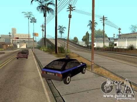 AZLK 21418 patrouiller pour GTA San Andreas laissé vue