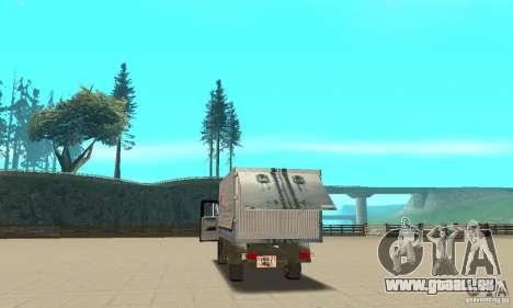 ZIL 433112 mit tuning für GTA San Andreas Innenansicht