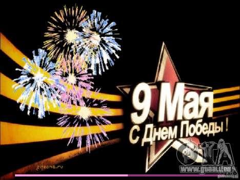 Écran de démarrage 9 mai GTA Vice City pour la troisième écran