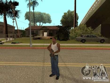 Leichtes Maschinengewehr Dâgterëva für GTA San Andreas siebten Screenshot