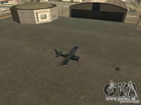 Ein neues Flugzeug-Dodo für GTA San Andreas Rückansicht