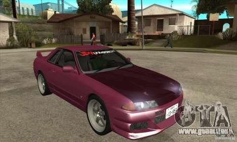 Nissan R32 JDM pour GTA San Andreas vue arrière