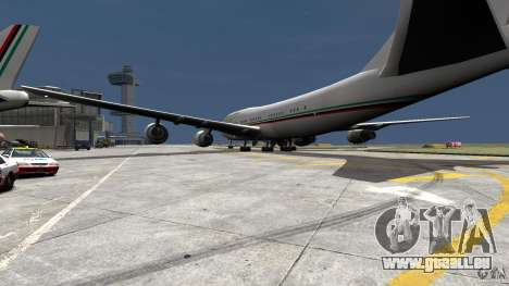 Real Emirates Airplane Skins Flagge für GTA 4 linke Ansicht