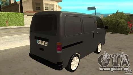Suzuki Carry Blind Van 1.3 1998 pour GTA San Andreas vue de droite