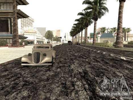 New roads in Las Venturas für GTA San Andreas