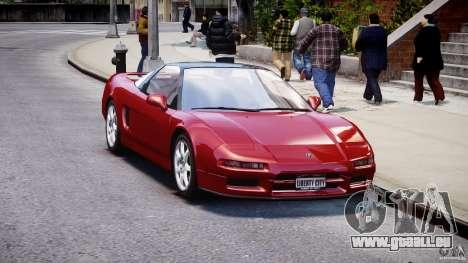 Acura NSX 1991 pour GTA 4