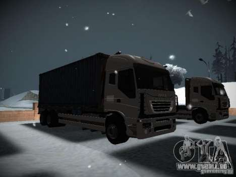 Iveco Stralis Long Truck für GTA San Andreas linke Ansicht
