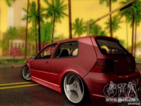 Volkswagen Golf Street pour GTA San Andreas laissé vue