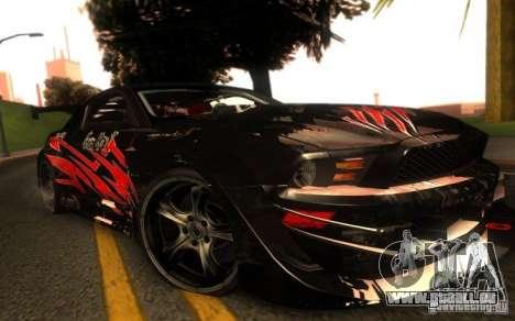 Ford Mustang Shelby GT500 V1.0 für GTA San Andreas