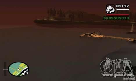 0,075 ENBSeries (juste de l'eau) pour GTA San Andreas septième écran