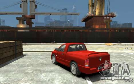 Dodge Ram SRT-10 v.1.0 pour GTA 4 Vue arrière de la gauche
