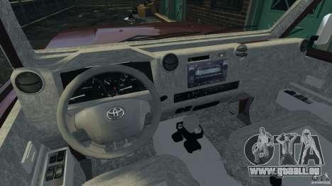 Toyota Land Cruiser Pick-Up 2012 pour GTA 4 Vue arrière de la gauche
