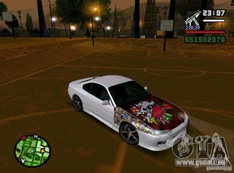 Nissan Silvia S15 pour GTA San Andreas