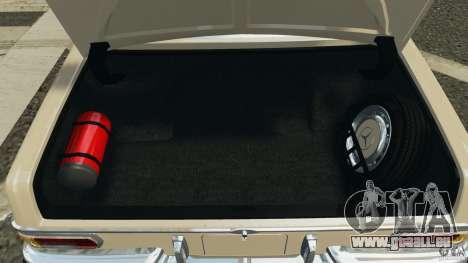 Mercedes-Benz 300Sel 1971 v1.0 pour GTA 4 Salon
