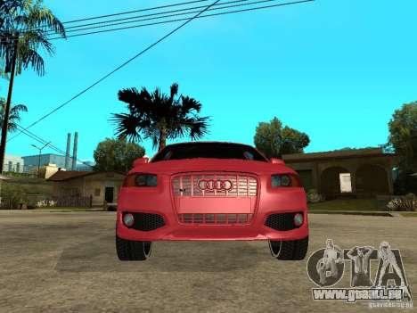 Audi S3 2006 Juiced 2 pour GTA San Andreas vue de droite