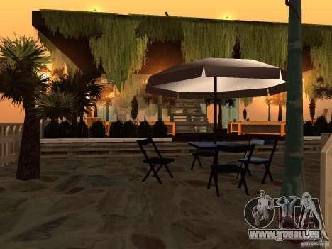 Club auf dem Wasser für GTA San Andreas zweiten Screenshot