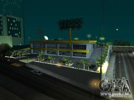 Nouveau showroom à San Fierro pour GTA San Andreas