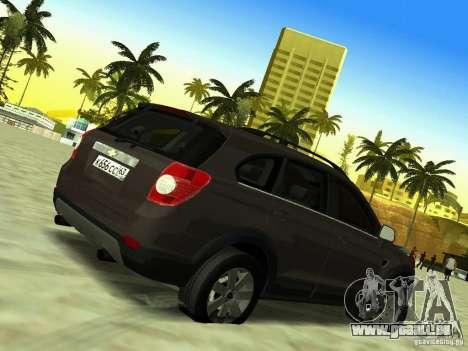 Chevrolet Captiva pour GTA San Andreas vue intérieure