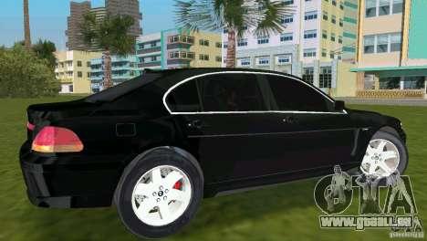 BMW 7-Series 2002 pour GTA Vice City