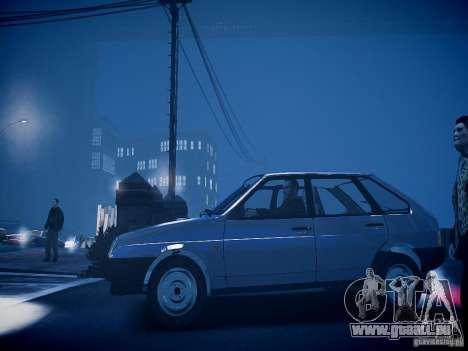 VAZ 21093i für GTA 4 hinten links Ansicht