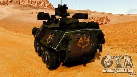 LAV-25 IFV für GTA 4 hinten links Ansicht