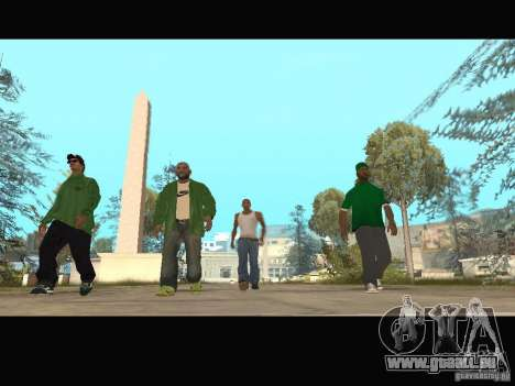 New Sweet, Smoke and Ryder v1.0 für GTA San Andreas zehnten Screenshot