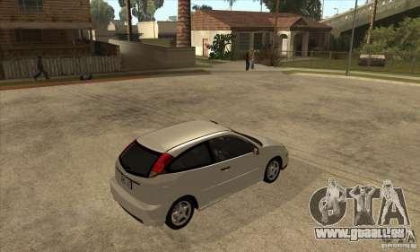 Ford Focus SVT für GTA San Andreas rechten Ansicht