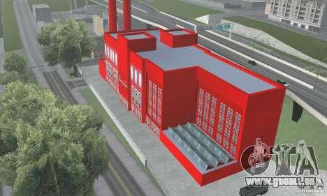 L'usine de Coca-cola pour GTA San Andreas
