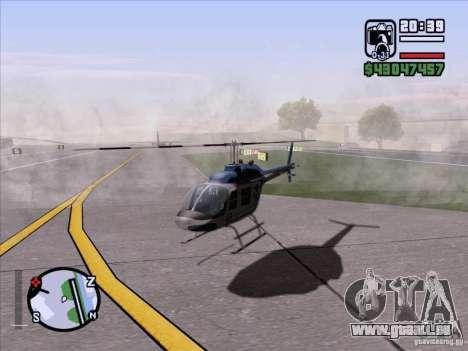 ENB Series v1.5 Realistic pour GTA San Andreas troisième écran