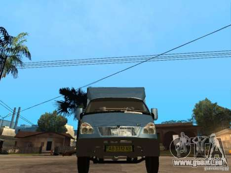 Gazelle Ruta für GTA San Andreas rechten Ansicht