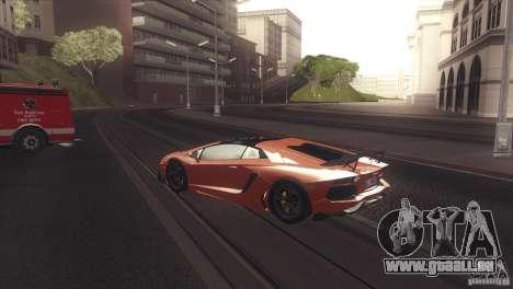 2013 Lamborghini Aventador LP700-4 Roadstar für GTA San Andreas rechten Ansicht