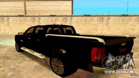 GMC Sierra 2011 für GTA San Andreas linke Ansicht