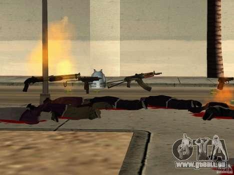 Inländischen Waffen-Version 1.5 für GTA San Andreas zehnten Screenshot
