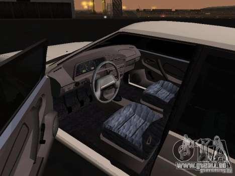 ВАЗ 2114-Bully für GTA San Andreas zurück linke Ansicht