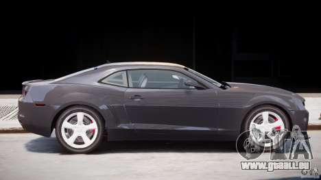 Chevrolet Camaro SS 2009 v2.0 pour GTA 4 vue de dessus