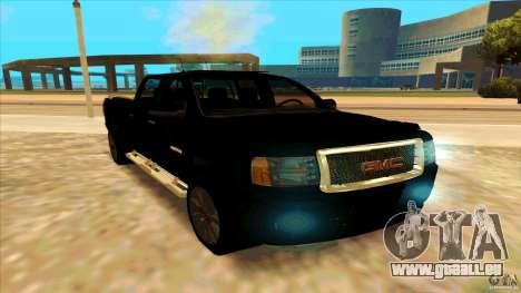 GMC Sierra 2011 pour GTA San Andreas vue de droite