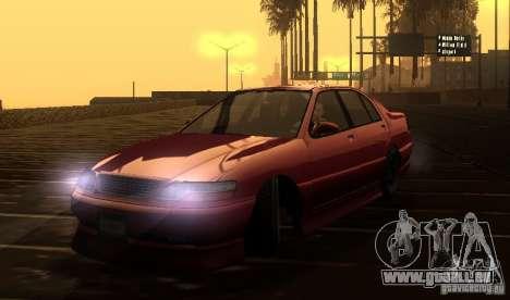 FEROCI VIP für GTA San Andreas Rückansicht
