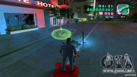 Das fließen des Blutes für GTA Vice City
